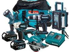 Makita cordless LXT lithium ion tools