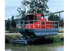 Sykes Dredge Pumps are ideal for shallow water dredging applications