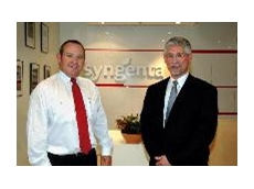 Syngenta Crop Protection General Manager, Paul Luxton, and Syngenta Sugarcane Research Group Leader, Dr Manuel Sainz