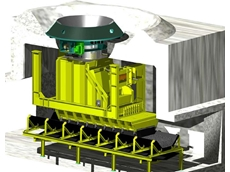 Vibratory stockpile reclaimers available from Syntechtron
