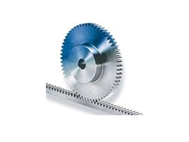 Spur wheel and racks with a large range of sizes
