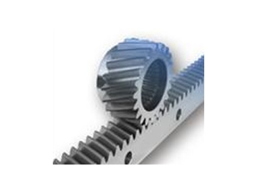 Helical Gear and rack are operate quieter than spur gears