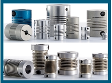 Bellows and helix couplings for flexible shafts