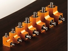 The compact angular gear from Ketterer is available in seven standard sizes.