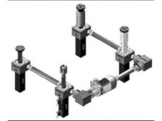 Zimm Screw Jack Building Block Systems