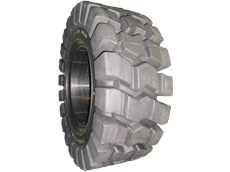 Resilient (Solid) Tyres for Off Road Applications
