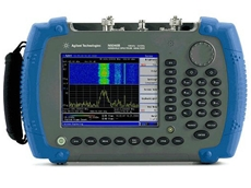 Agilent N9340B handheld RF spectrum analyser