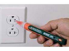 DV40 AC voltage detector + IR thermometer