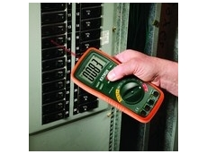 The EX470 multimeter for electrical testing, from TRIO Smarcal