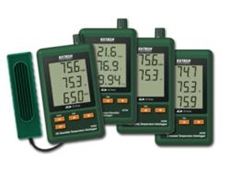 Extech SD Series data loggers available now from TRIO Test & Measurement