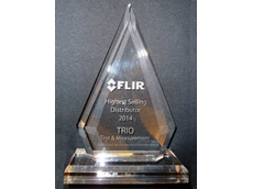 TRIO Test & Measurement won the FLIR Highest Selling Distributor 2014 award
