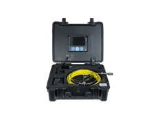 TRIO's 3199F pipe inspection camera in a heavy duty case