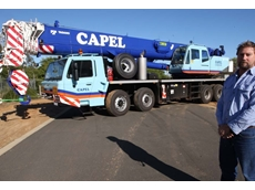 The Tadano GT600-EX truck crane commissioned for Capel Crane Hire