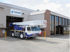 The new Tadano Oceania facility in Sydney