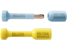 Tamper Evident security bolt seals are used on shipping containers