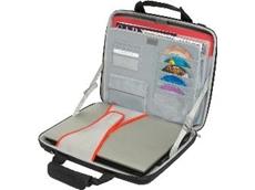 Hardsided slimline laptop case