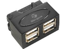 Micro-Travel USB 2.0 4-Port Hu