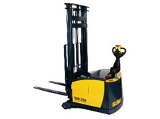 The Sumi Boa legless forklift will be on display at the Queensland Safety Show.