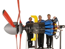 Working Airplane Prop Built on Fortus 3D Production Systems
