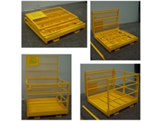 Folding Safety Cages and work platforms