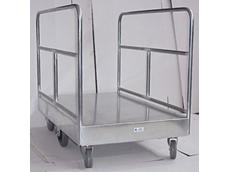 Galvanized 6 wheel roller