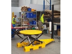 The dual purpose Roto Lift Electric Motorised Shrink Wrapper.