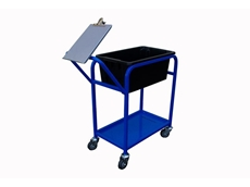 TS1B stock trolley with clipboard