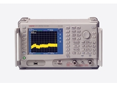 Advantest portable spectrum analyser handles wide frequency range
