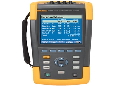 Fluke 435 3-Phase Power Quality and Energy Analyser