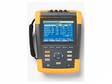 Rent the Fluke 435 3-phase power quality and energy analyser from TechRentals