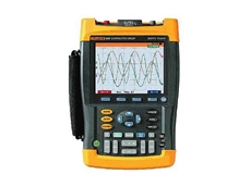 Rent the handheld Fluke 199 200MHz ScopeMeter oscilloscopes from TechRentals