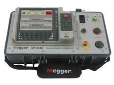 Megger MTO330 automated six-winding transformer ohmmeters utilise a one time connection principle