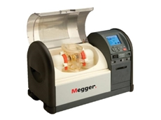 The portable and lightweight Megger OTS80PB transformer oil testers are available to rent from TechRentals