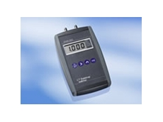 EMA 200 portable digital manometer by Technical and Scientific Equipment Co