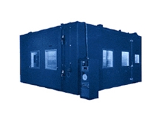 Envirotronics walk-in environmental test chambers are strong and durable