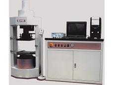 SANS Group's YAW4000 W series servo-hydraulic compression testing machines
