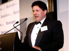 Technofast's founder and CEO, John Bucknell speaking at the event