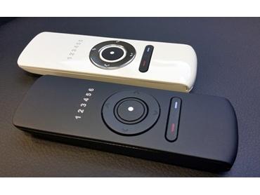 Slimline Remotes for Desk Lift Application