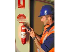 Automation of fire equipment inspections using a PDA