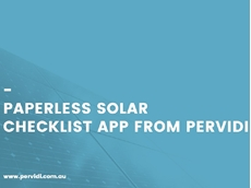 Solar installers can combine a mobile device with the right inspection application to achieve operational efficiencies
