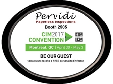 Pervidi paperless safety inspection solution at CIM 2017