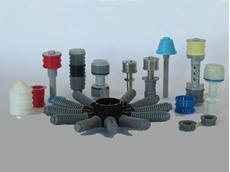 ILMAP filter nozzles