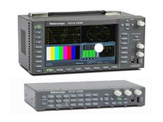 WFM5200 Waveform Monitor and WVR5200 Rasterizer