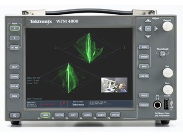 Video and Audio Monitoring Instruments for quality control