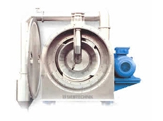 Conturbex centrifuges are continuously operated