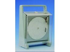 TT202 Portable Bimetal refrigerator Temperature Circular Chart Recorder from Temperature Technology