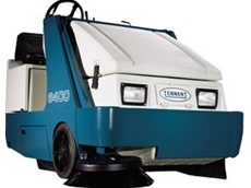 6400 ride on sweepers available from Tennant