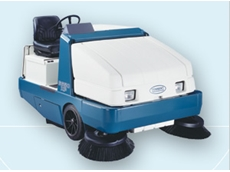 6650 power ride on sweepers from Tennant have industrial strength durability