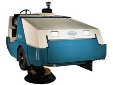 800 large ride on sweeper available from Tennant