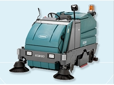 8300 battery powered scrubber sweeper